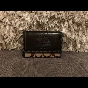 Coach Small Monogramed Wallet